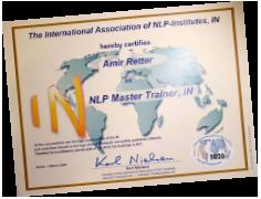 תעודה בעל דרגת NLP Master Trainer מטעם ABNLP (טד ג'יימס)