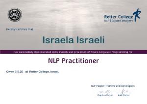 תעודה NLP Practitional