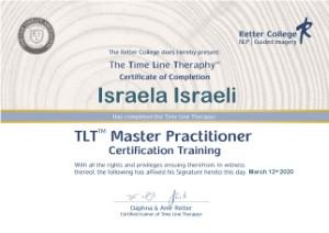 תעודה TLT Master Practitional